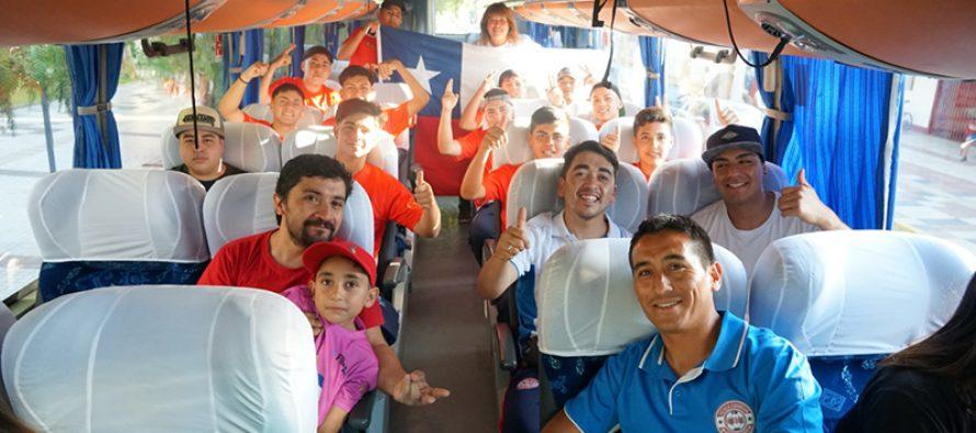 Futbolistas elquinos viajan a Mendoza, Argentina,  para disputar un torneo internacional