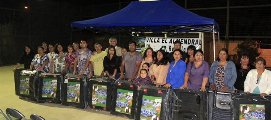 Vecinos de la Villa El Almendral se adjudican proyecto de reciclaje y compost