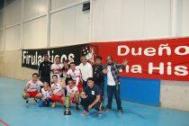 Los Firulacticos por quinta vez se quedaron con la copa de campeón de la Liga de Baby Fútbol