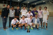 Municipalidad de Vicuña se quedó por cuarta vez con la copa de la Liga Laboral de Baby Fútbol