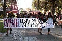 Mujeres elquinas se manifiestan contra la violencia y el abuso