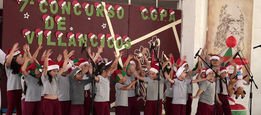 Colegio Leonardo Da Vinci celebra su 7ma competencia de Villancicos