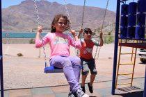 Destacan inversión en  juegos infantiles en Viñita Alta, Talcuna y Puclaro