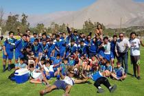 CD Diaguitas se coronó como bicampeón en serie juvenil y campeón en 2da serie infantil