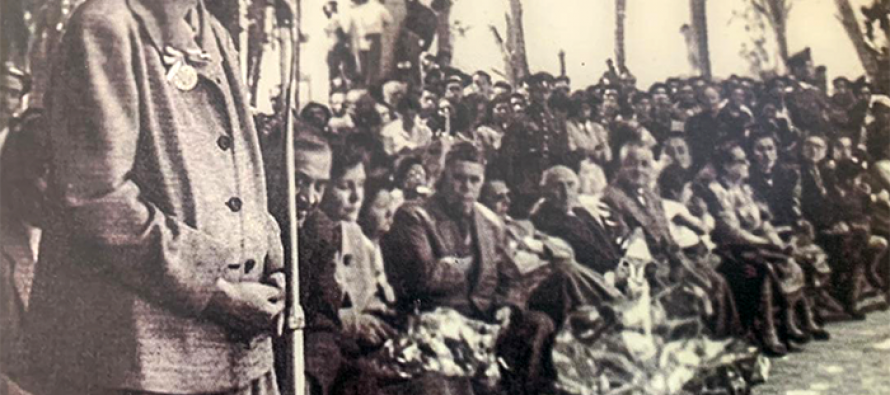Gabriela Mistral en plazas de Vicuña