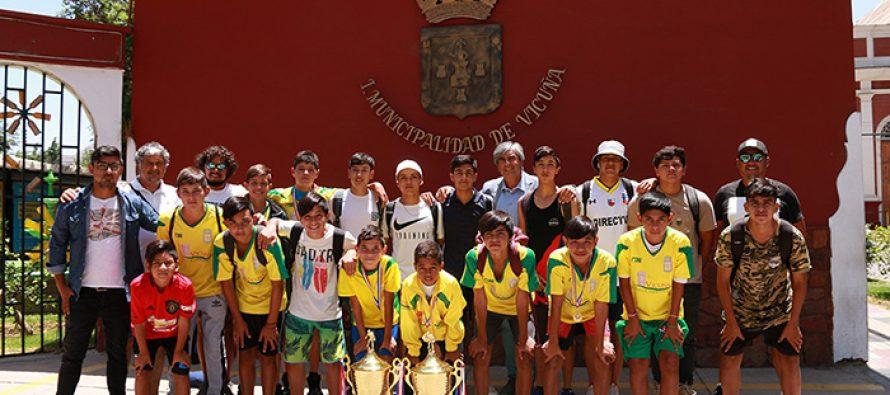 Escuela de Fútbol Municipal salió campeón en dos categorías en la Copa Ciudad de La Serena