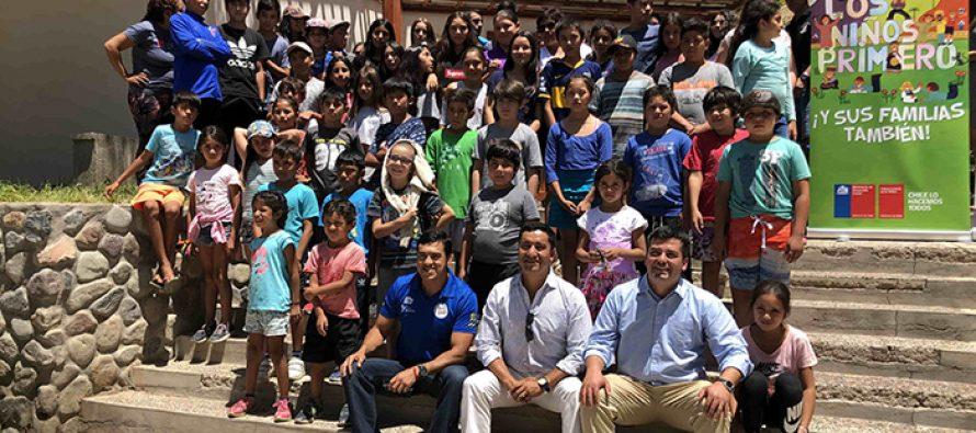 Montegrande: Centros para hijos de temporeros benefician a familias de 8 comunas de la región durante este verano