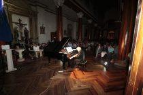 Roberto Bravo y Juan Estay deslumbraron a elquinos y turistas en concierto de piano clásico
