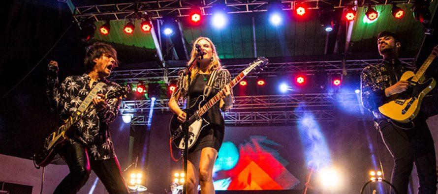 Nicole deleitó al público en una nueva noche de celebración en el Carnaval Elquino 2020