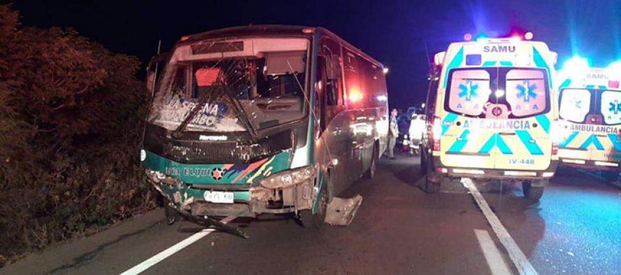 Quebrada de Talca: Dos personas fallecidas en accidente de tránsito en la ruta 41 CH