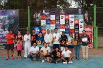 Mario Cortés fue el campéon de la primera categoría del Campeonato de Tenis de Vicuña