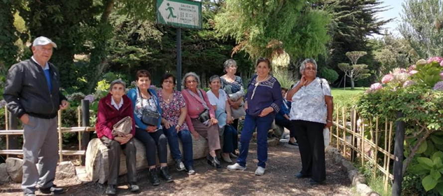 Adultos Mayores de Paihuano disfrutaron de un día de esparcimiento en La Serena y Coquimbo