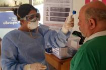 Aplican medidas preventivas por coronavirus en Paso Agua Negra