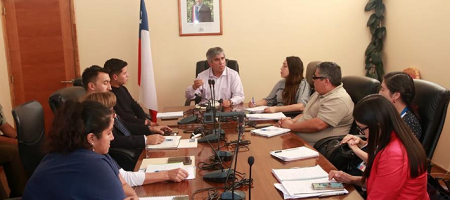 Comité de Emergencia de Vicuña se reúne para tabajar en prevención de contagio de COVID-19
