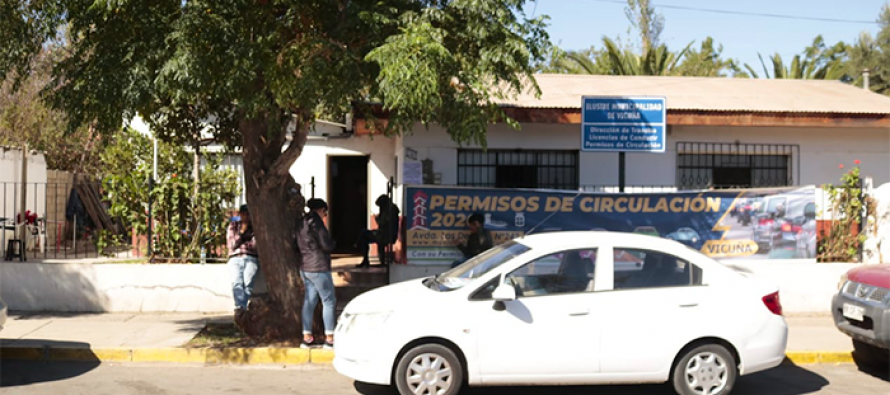 Aprueban en Vicuña postergación del pago de permisos de circulación por unanimidad