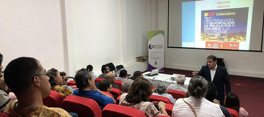 Comuna de Vicuña amplia nexos turísticos y comerciales con la provincia de Córdoba