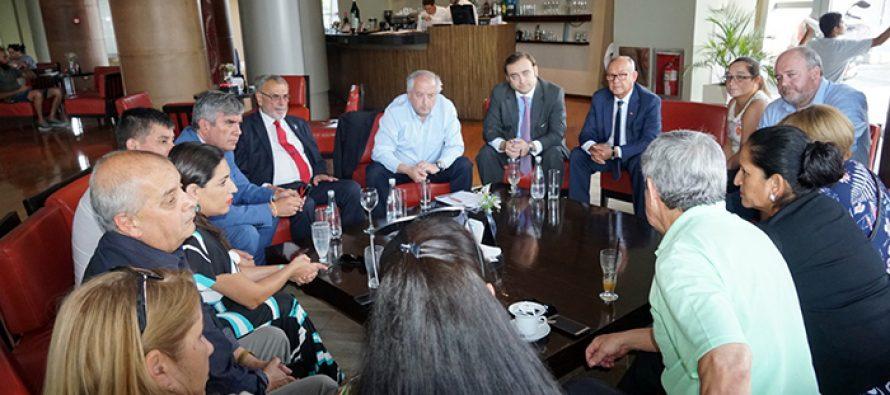 Solicitan a embajador de Chile en Argentina sumarse a esfuerzos de integración con San Juan
