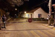 Paihuano: Instalan barrera de seguridad para evitar ingreso de turistas en las noches