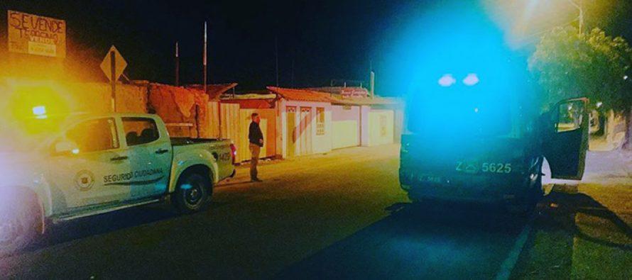 Fiscalizan funcionamiento del toque de queda en la comuna de Vicuña durante el fin de semana