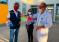 Realizan caretas antifluidos destinadas a las personas más expuestas al contagio del Covid-19