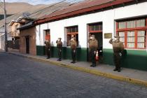 Con izamiento de la bandera Carabineros de Paihuano celebran sus 93 años