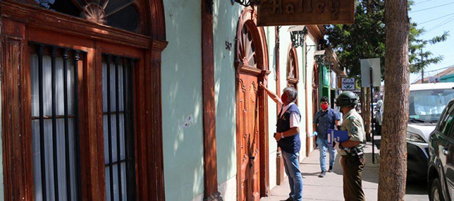 Aumentan las fiscalizaciones a hoteles y hostales de Vicuña que deben permanecer cerrados