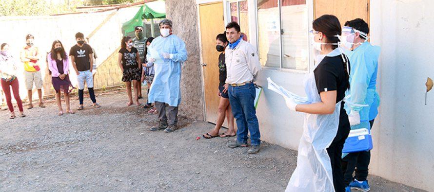 Realizan monitoreo de salud a los trabajadores extranjeros que hacen cuarentena voluntaria