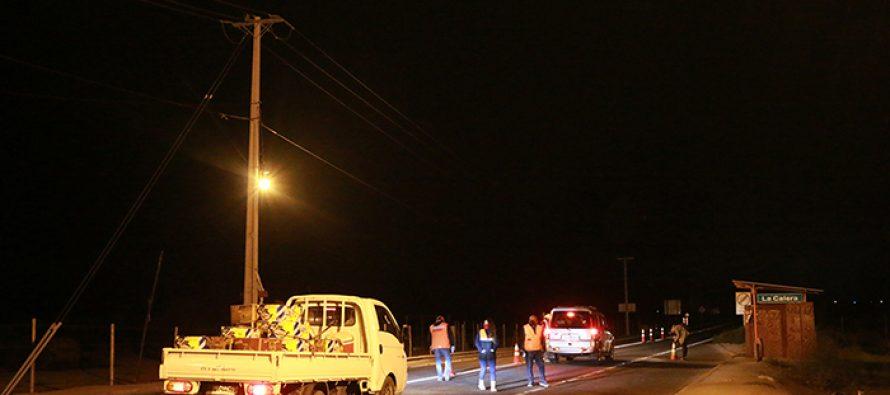 Control de ingreso de conductores a la comuna de Vicuña comienza a las 5 de la mañana