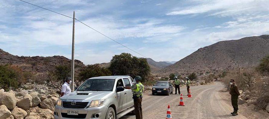Instalan control aleatorio en la ruta Antakari con el fin de evitar ingreso de turistas por dicho paso
