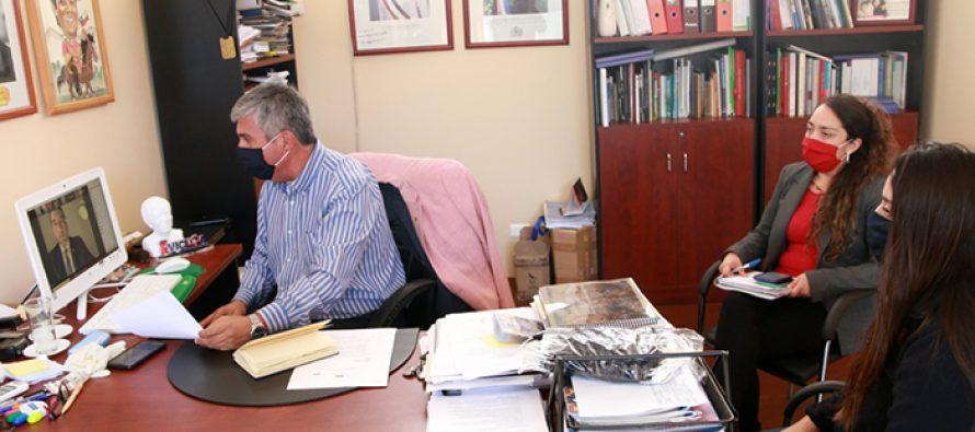 Valoran realización de reuniones remotas para coordinar acciones desde Vicuña