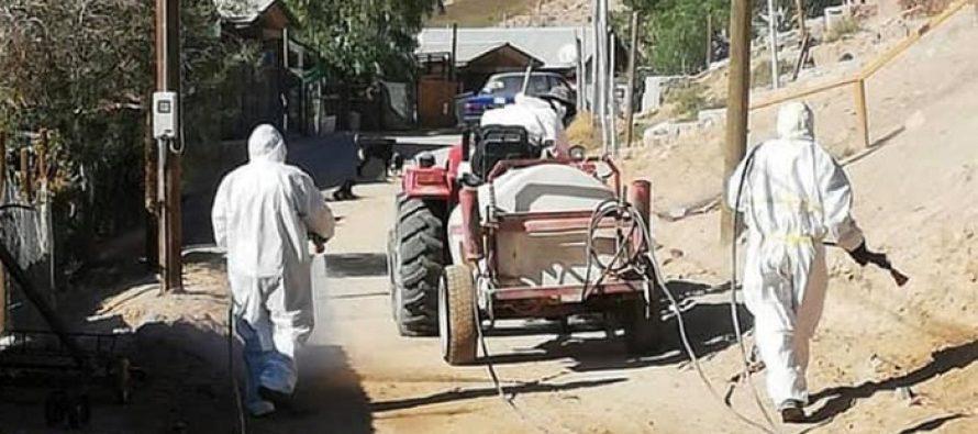 La importancia de los tractores para evitar la propagación del coronavirus en la zona