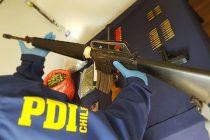 Fiscalía formaliza a sujeto por tráfico de drogas y tenencia de armas, entre éstas, un fusil de guerra