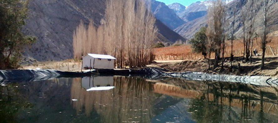 Usuarios de aguas podrán acceder a nuevos recursos de la Ley de Riego para proyectos de acumulación e infiltración