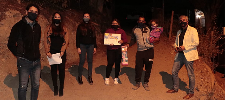 """OPD Vicuña realizó premiación de masivo concurso infantil """"Desde Mi Ventana"""""""
