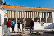 Sede de la Unión Comunal de Juntas de Vecinos de Vicuña cuenta con alrededor de un 70% de avance