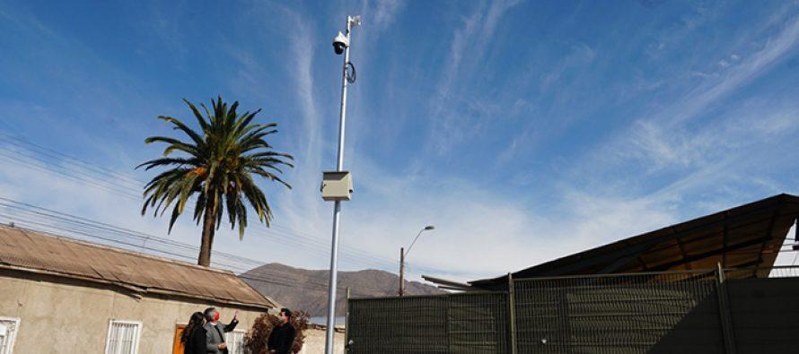 Con 10 nuevas cámaras de seguridad contará el centro comercial de Vicuña