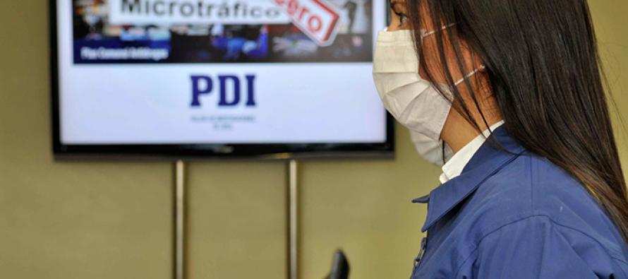 PDI detiene a dos personas por microtráfico en Vicuña