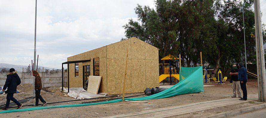 Rápidamente avanza construcción de nueva sede de la Villa Doña Isolina en Vicuña