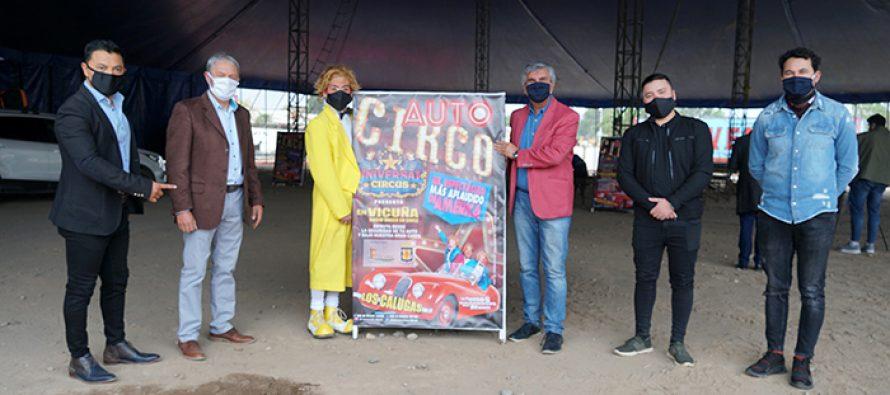 """""""Auto-Circo"""" debutará este viernes en la ciudad de Vicuña"""