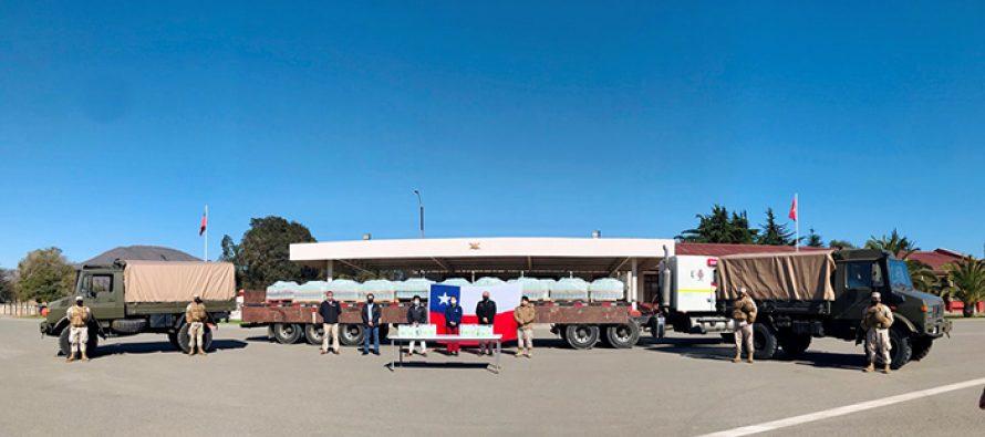 CCU dona a la región 11 mil litros de alcohol para superficies extraídos de la producción de pisco