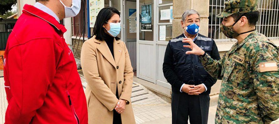 Alcaldes de la región analizaron la situación de la pandemia con la delegada presidencial