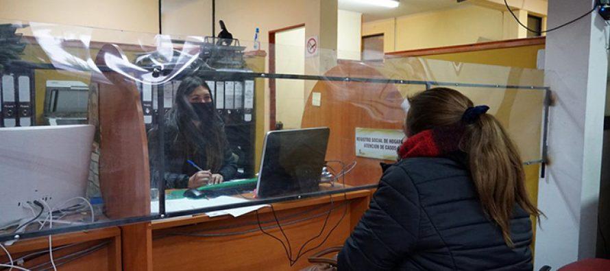 Esta semana continúa la entrega de cajas familiares entregadas por el municipio de Vicuña