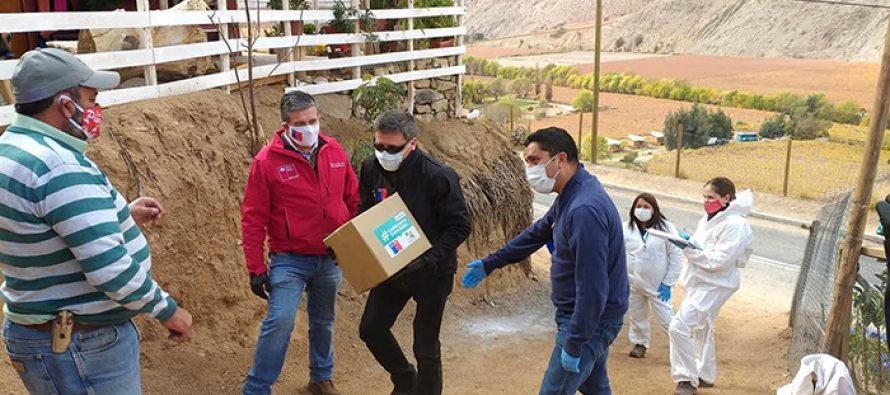 Distribución de canastas de Alimentos para Chile supera el 70% de avance en la Región de Coquimbo