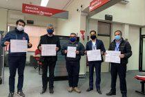 30 voluntarios del Cuerpo de Bomberos de Vicuña cuentan con póliza de seguro ante accidentes