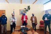 Club Social Elqui realiza importante donación para control sanitario de ingreso a Vicuña