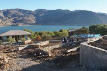 Proyecto de la Plaza de Gualliguaica se encuentra con un avance cercano al 40%