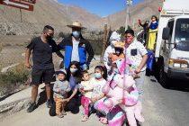 Paihuano celebró el Día del Niño con caravana multicolor