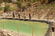 Chapilcana disfruta proyecto de riego tecnificado que optimiza el recurso hídrico y sus tiempos
