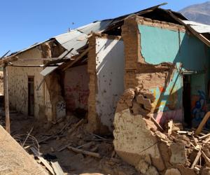 Rescate de ex escuela en Pisco Elqui