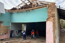Comienza proceso de reconstrucción de escuela donde hizo clases el padre de Gabriela Mistral en Pisco Elqui